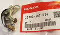 Contact Breaker Ignition Points, Genuine Honda OEM