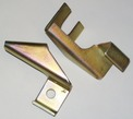 Replate Caliper Hose Bracket Set