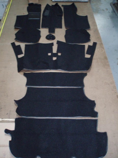 Coupe Carpet Kit