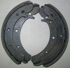 Relined Rear Brake Shoes