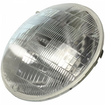Halogen Headlight, Sealed Beam Bulb
